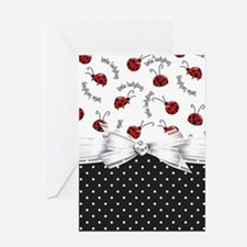 Ladybug Dreams Greeting Cards