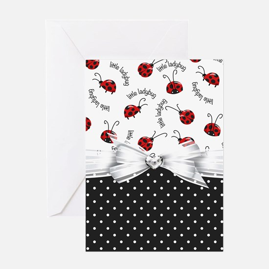 Ladybug Dreams Greeting Cards
