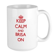 Keep Calm and Brisa ON Mugs