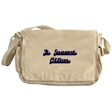 It Support Officer Classic Job Desig Messenger Bag