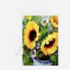 Sunflower Greeting Cards