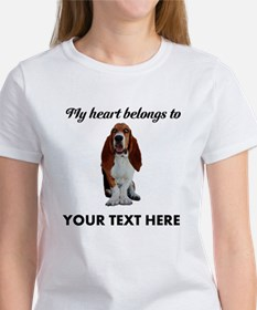 Personalized Basset Hound Tee