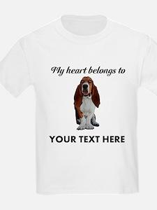 Personalized Basset Hound T-Shirt