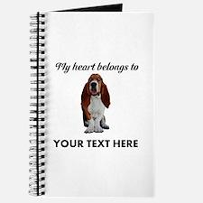 Personalized Basset Hound Journal