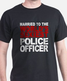 Married To The Worlds Sexiest Police Officer T-Shi