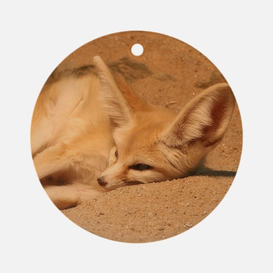 Fennec Fox Ornament (Round)