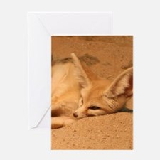 Fennec Fox Greeting Cards