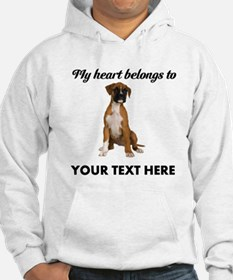 Personalized Boxer Dog Jumper Hoody
