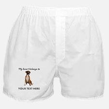 Personalized Boxer Dog Boxer Shorts