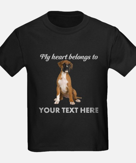 Personalized Boxer Dog T