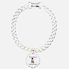 Personalized Boxer Dog Bracelet