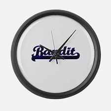 Bandit Classic Job Design Large Wall Clock