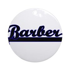 Barber Classic Job Design Ornament (Round)