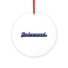 Bodyguard Classic Job Design Ornament (Round)