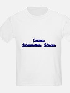 Careers Information Officer Classic Job De T-Shirt