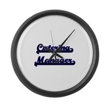 Catering Manager Classic Job Desi Large Wall Clock