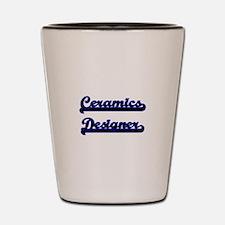 Ceramics Designer Classic Job Design Shot Glass