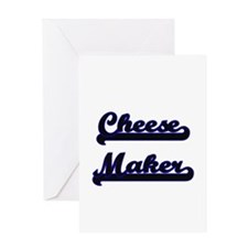 Cheese Maker Classic Job Design Greeting Cards