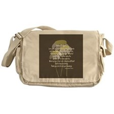 Nurse Prayer Messenger Bag