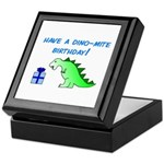 DINO-MITE BIRTHDAY! Keepsake Box