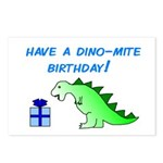 DINO-MITE BIRTHDAY! Postcards (Package of 8)