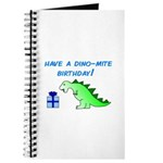 DINO-MITE BIRTHDAY! Journal