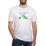 DINO-MITE BIRTHDAY! Fitted T-Shirt