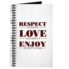 Respect Love Enjoy - Journal