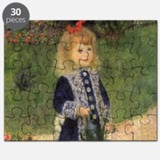 Renoir A Girl w Watering Can Puzzle