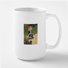 Renoir A Girl w Watering Can Mugs