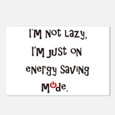 I'm not lazy Postcards (Package of 8)