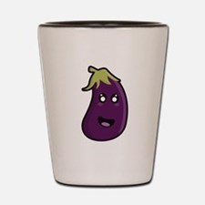 Kawaii Eggplant Shot Glass