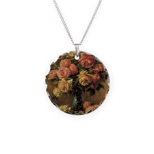 Roses in a Vase by Renoir Necklace