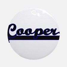 Cooper Classic Job Design Ornament (Round)