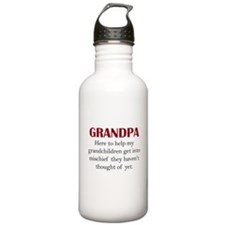Grandpa Water Bottle