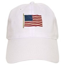 Vintage American Flag Baseball Cap