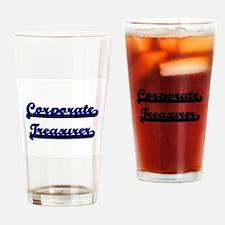 Corporate Treasurer Classic Job Des Drinking Glass