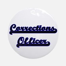 Corrections Officer Classic Job D Ornament (Round)