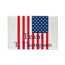 Cute Tommy thompson president Rectangle Magnet