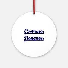 Costume Designer Classic Job Desi Ornament (Round)