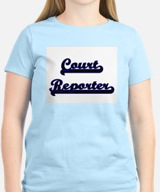 Court Reporter Classic Job Design T-Shirt