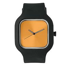 White and Tangerine Watch