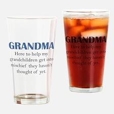 Grandma Drinking Glass