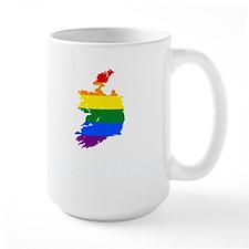 IRISH GAY PRIDE EQUAL MARRIAGE RAINBOW FLAG. Mugs