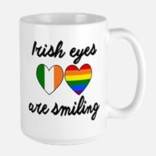 IRISH GAY PRIDE EQUAL MARRIAGE RAINBOW FLAG. Mugs