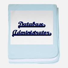 Database Administrator Classic Job De baby blanket
