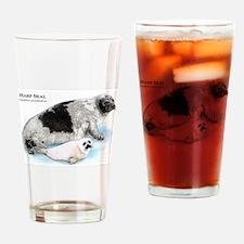 Harp Seal Drinking Glass