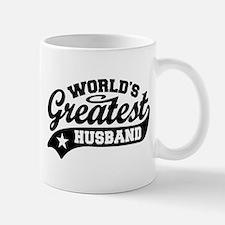 World's Greatest Husband Small Mugs