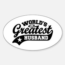 World's Greatest Husband Decal