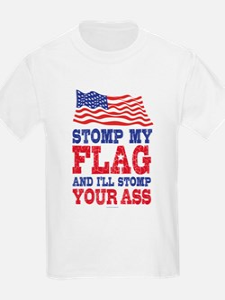 Stomp My Flag T-Shirt